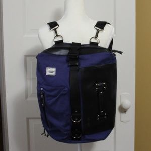 Five in One Backpack Blue w black trim